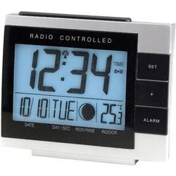 Techno Line Radijski kontrolirana budilica s mjesečevim mijenama (D x Š x V) 118 x 50 x 100 mm