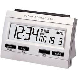 Techno Line Radijski kontrolirana budilica s memorijom (D x Š x V) 102.5 x 48 x 69 mm