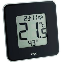 Termo-/Hygrometer TFA Style Svart