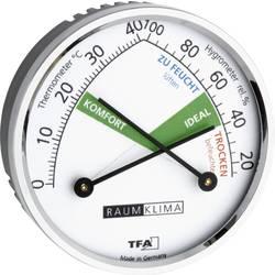 Stenski termometer termo/higro meter TFA 45.2024 srebrne barve