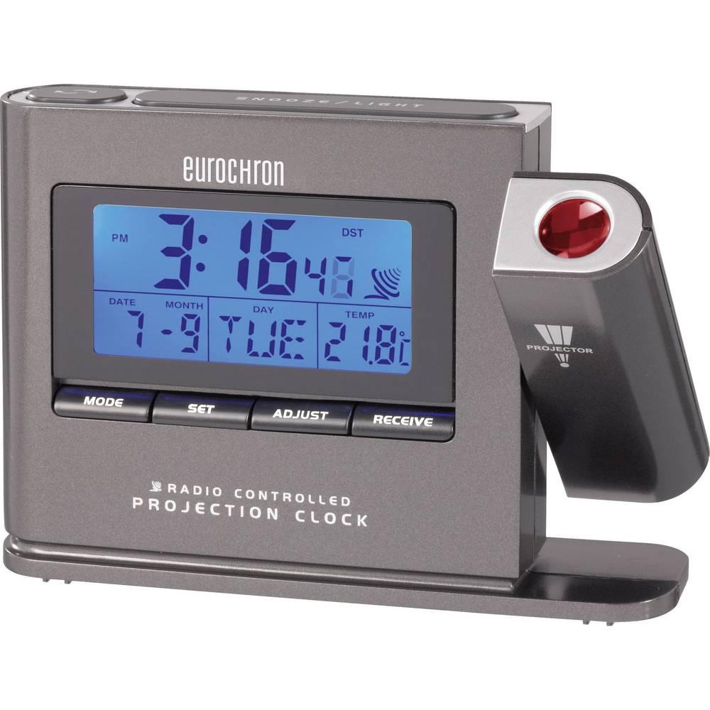 Radijsko vodena projekcijska ura Eurochron EFP 3000 (Š x V x G) 130 x 94 x 30 mm C8329