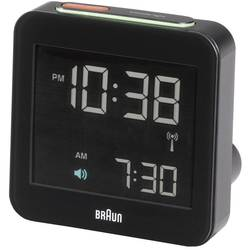 DCF Väckarklocka Braun 66018 Svart Larmtider 1