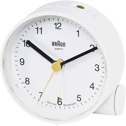 Kvarts Väckarklocka Braun 66004 Vit Larmtider 1