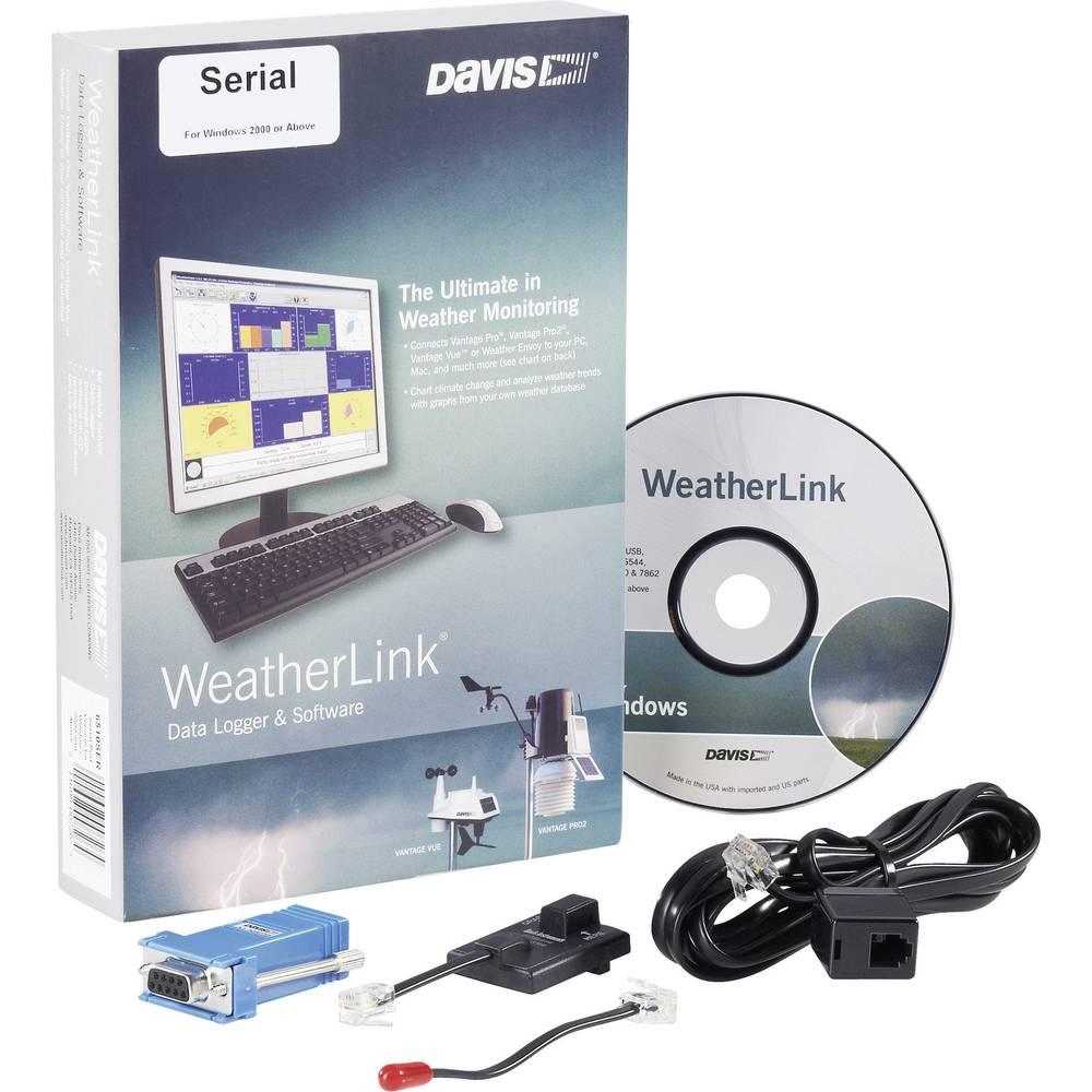 Davis Instruments Softver Weather LinkR Serijski DAV-6510SER za vremenske stanice Vantage Pro2, Vantage Pro2 Plus, Vantage Pro2