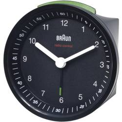 DCF Väckarklocka Braun 66009 Svart Larmtider 1