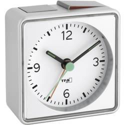 Kvarts Väckarklocka TFA 60.1013.54 Silver Larmtider 1 Flourescerande Visare