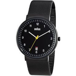 analog Armbandsur Braun Quarz-Armbanduhr Rostfritt stål Svart
