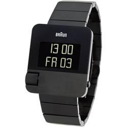 digital Armbandsur Braun Armbanduhr Prestige Rostfritt stål Svart