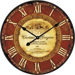 Techno Line Kvarčna stenska ura Retro WT 1511 Chateau Gregoire (Ø x G) 50 cm x 5 cm rjava