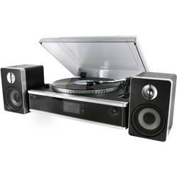 USB-skivspelare SoundMaster PL875 Svart/Silver