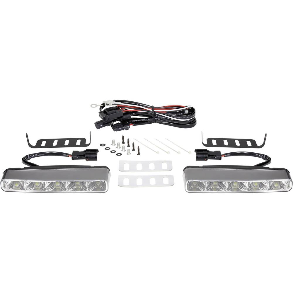 Renkforce LED luči za dnevno vožnjo TTX-8009 5 LED (Š x V x G) 160 x 25 x 55 mm