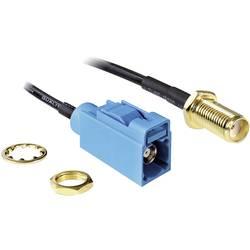 WLAN-antena - produžni kabel [1x SMA-utičnica - 1x SMBA-(FAKRA) Z utičnica] 0.20 m crni Delock