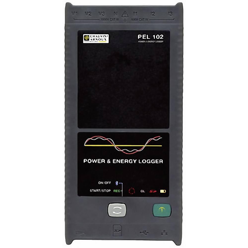 Chauvin Arnoux PEL 102 energijski snemalnik, analizator omrežja P01157152