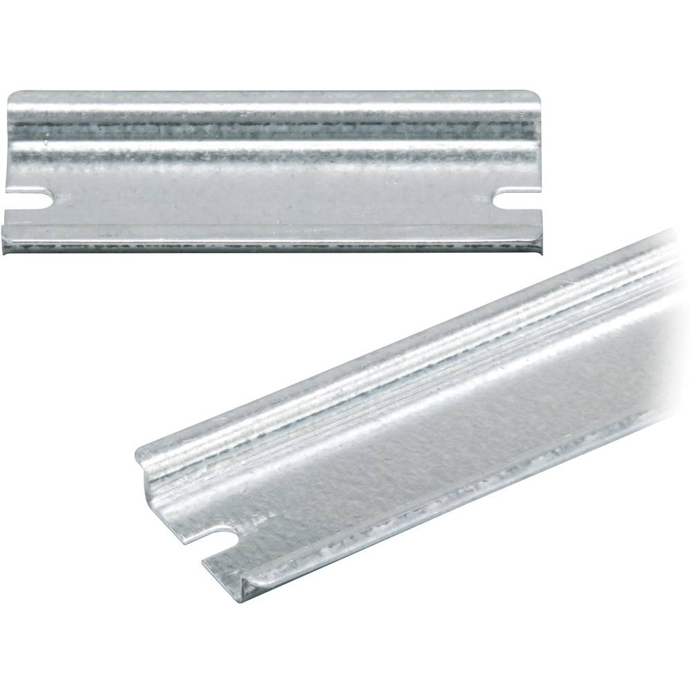 DIN-skinne Fibox EK EKV 22 Ikke perforeret Stålplade 235 mm 1 stk