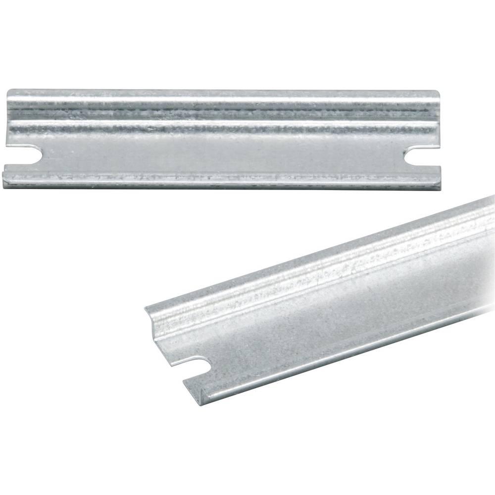 DIN-skinne Fibox EURONORD PRM 0819 Ikke perforeret Stålplade 179 mm 1 stk