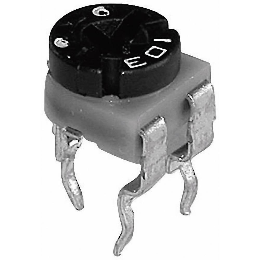 TT Electronics AB trimer, z ogljikovim slojem HA 06/SM065 601020 1 k stoječ 0.1 W ± 30 %