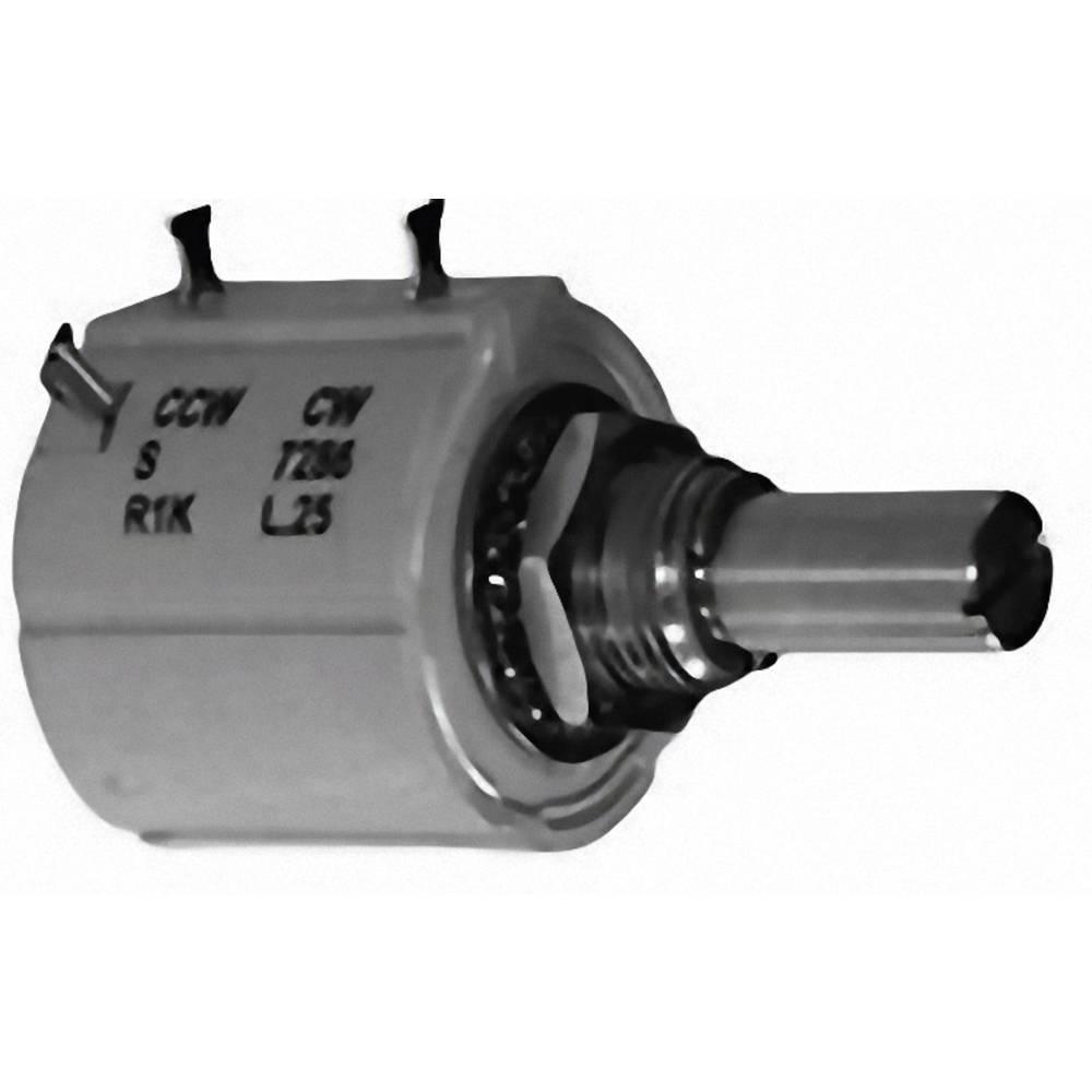 Natančni potenciometer 10-stopenjska nastavitev, mono 2 W 50 k TT Electronics AB 3115602510 1 kos