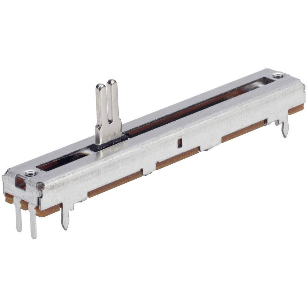 Drsni potenciometer 500 enojni vhod 0.25 W linearni TT Electronics AB 4111001420 1 kos