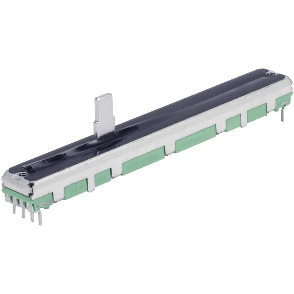 Drsni potenciometer 10 k dvojni vhod 0.25 W linearni TT Electronics AB 4111703545 1 kos