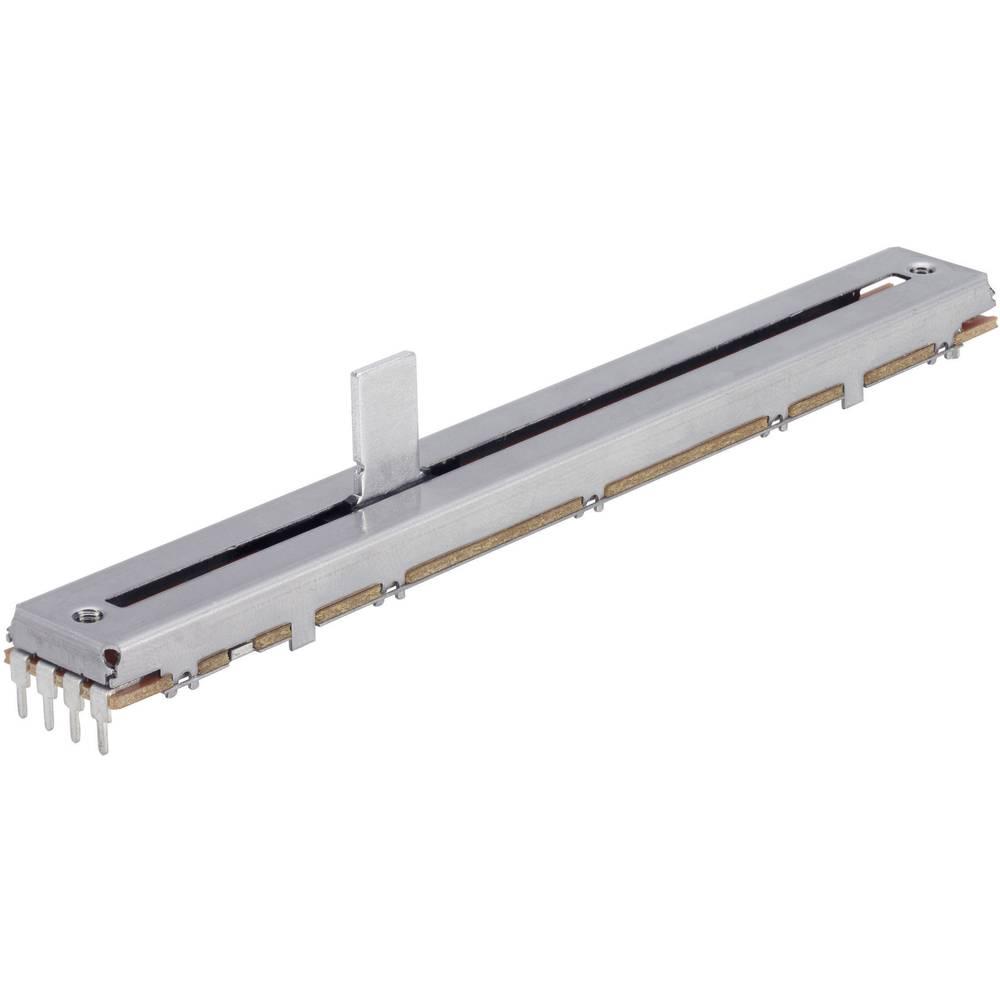 Drsni potenciometer 100 k stereo 0.25 W linearni TT Electronics AB 4111905315 1 kos