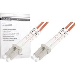 Optični priključni kabel [1x LC vtič - 1x LC vtič] 50/125µ Multimode OM3 2 m Digitus