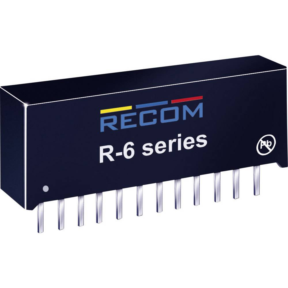 DC/DC pretvornik za tiskano vezje RECOM R-629.0P 9 V/DC 2 A 18 W št. izhodov: 1 x