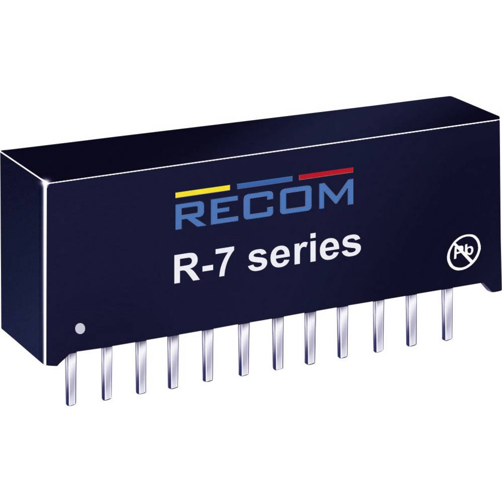 DC/DC pretvornik za tiskano vezje RECOM R-743.3P 3.3 V/DC 4 A 13 W št. izhodov: 1 x