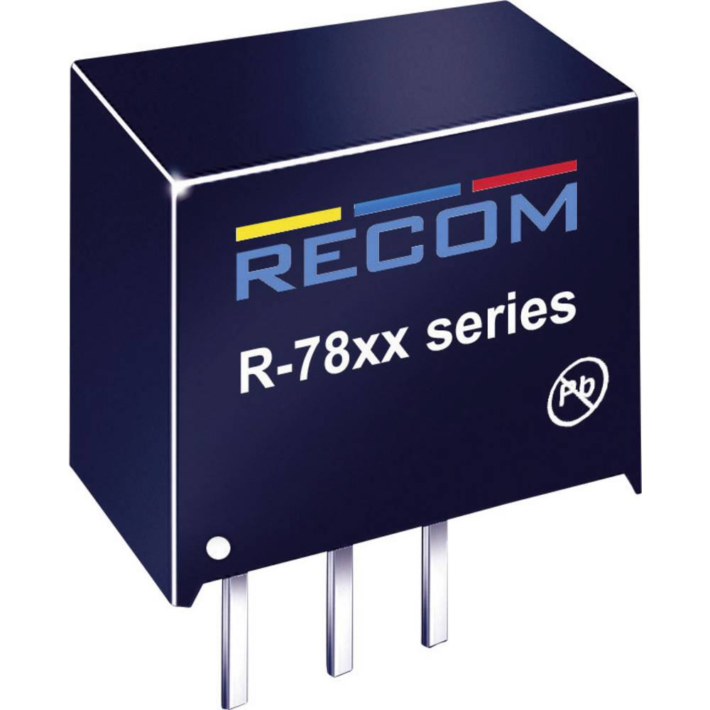 DC/DC pretvornik za tiskano vezje RECOM R-782.5-1.0 2.5 V/DC 1 A 2.5 W št. izhodov: 1 x
