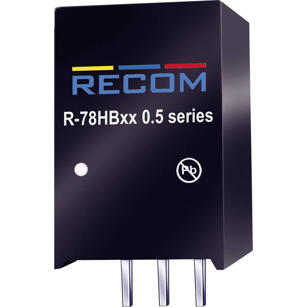 DC/DC pretvornik za tiskano vezje RECOM R-78B6.5-1.0 32 V/DC 6.5 V/DC 1 A 6.5 W št. izhodov: 1 x