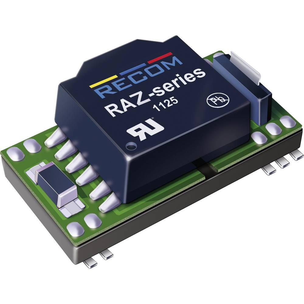 DC/DC pretvornik-modul RECOM RAZ-1205S/H 12 V/DC 5 V/DC 200 mA 1 W št. izhodov: 1 x