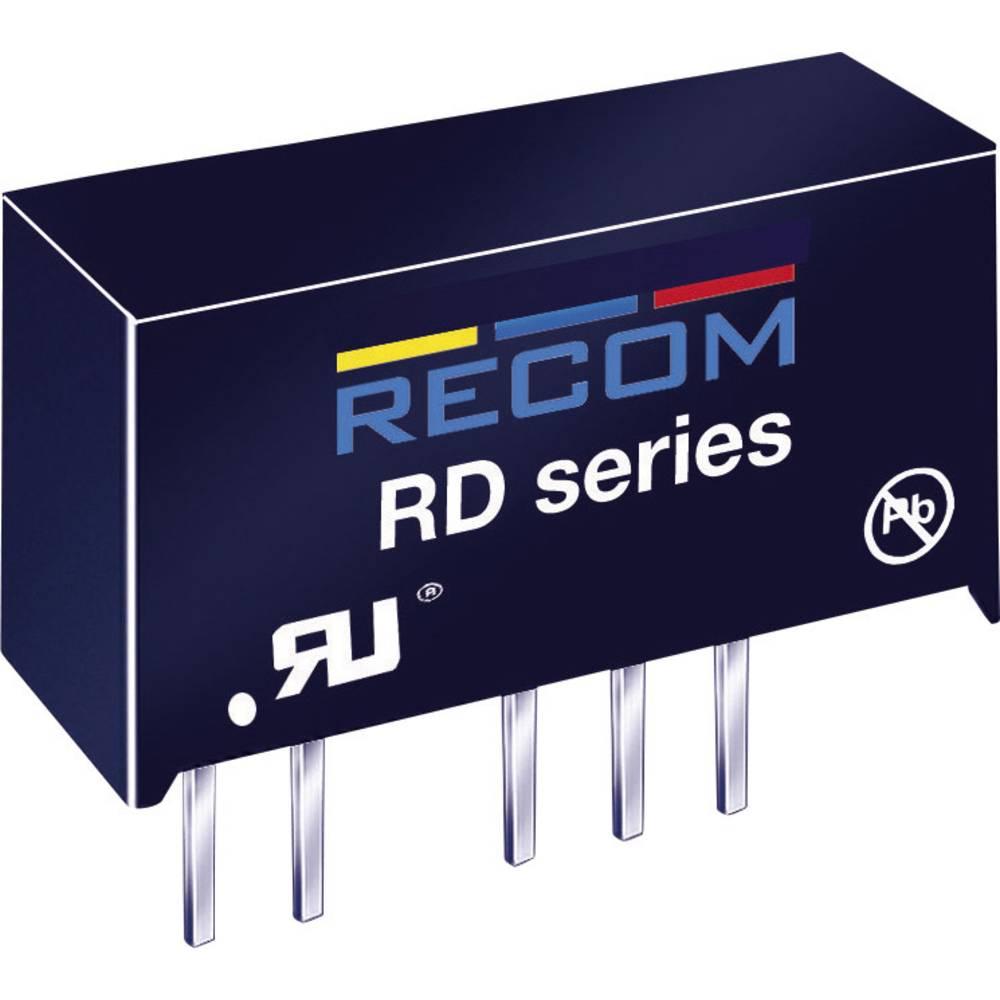 DC/DC pretvornik za tiskano vezje RECOM RY-0505S 5 V/DC 5 V/DC 200 mA 1 W št. izhodov: 1 x