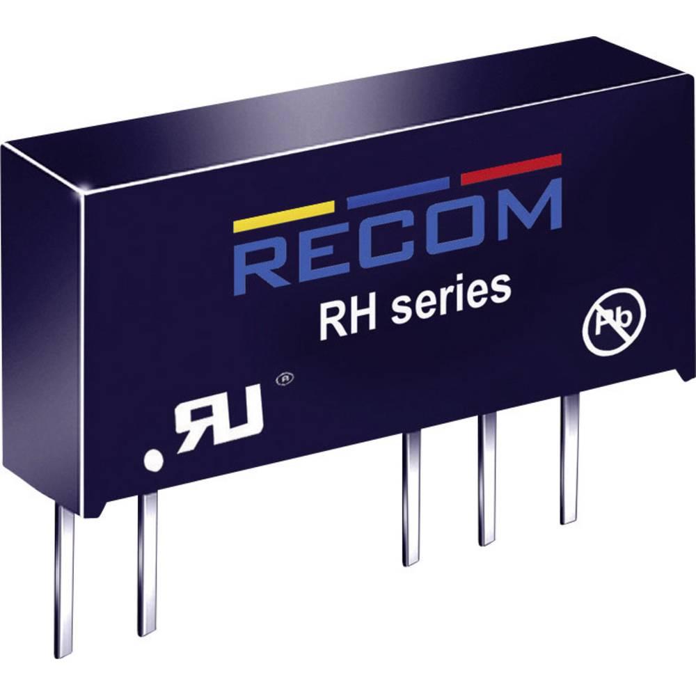DC/DC pretvornik za tiskano vezje RECOM RH-0512D 5 V/DC 12 V/DC, -12 V/DC 41 mA 1 W št. izhodov: 2 x