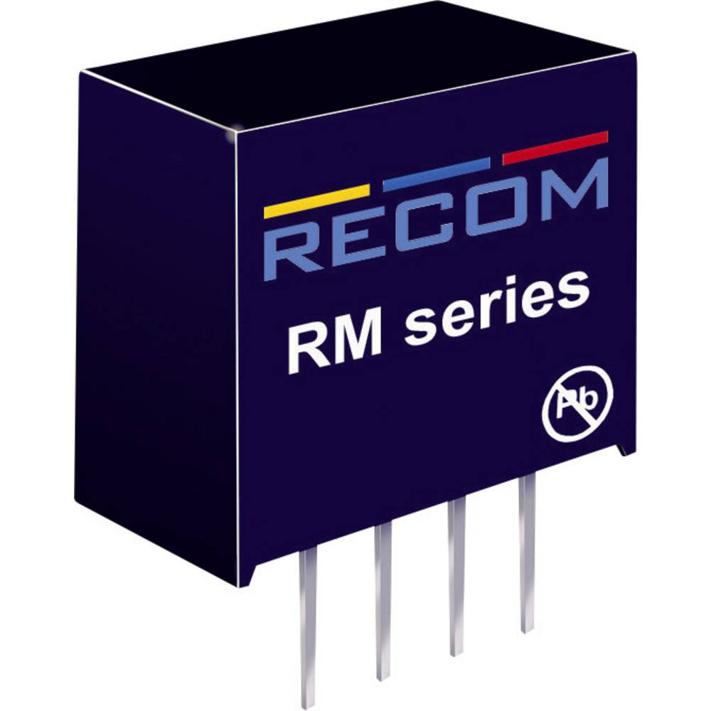 DC/DC pretvornik za tiskano vezje RECOM RM-0505S/HP 5 V/DC 5 V/DC 50 mA 0.25 W št. izhodov: 1 x