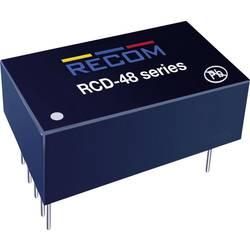 LED-driver 1000 mA 56 V/DC Analog dæmpning, PWM-dæmpning Recom Lighting RCD-48-1.00 Driftsspænding maks.: 60 V/DC