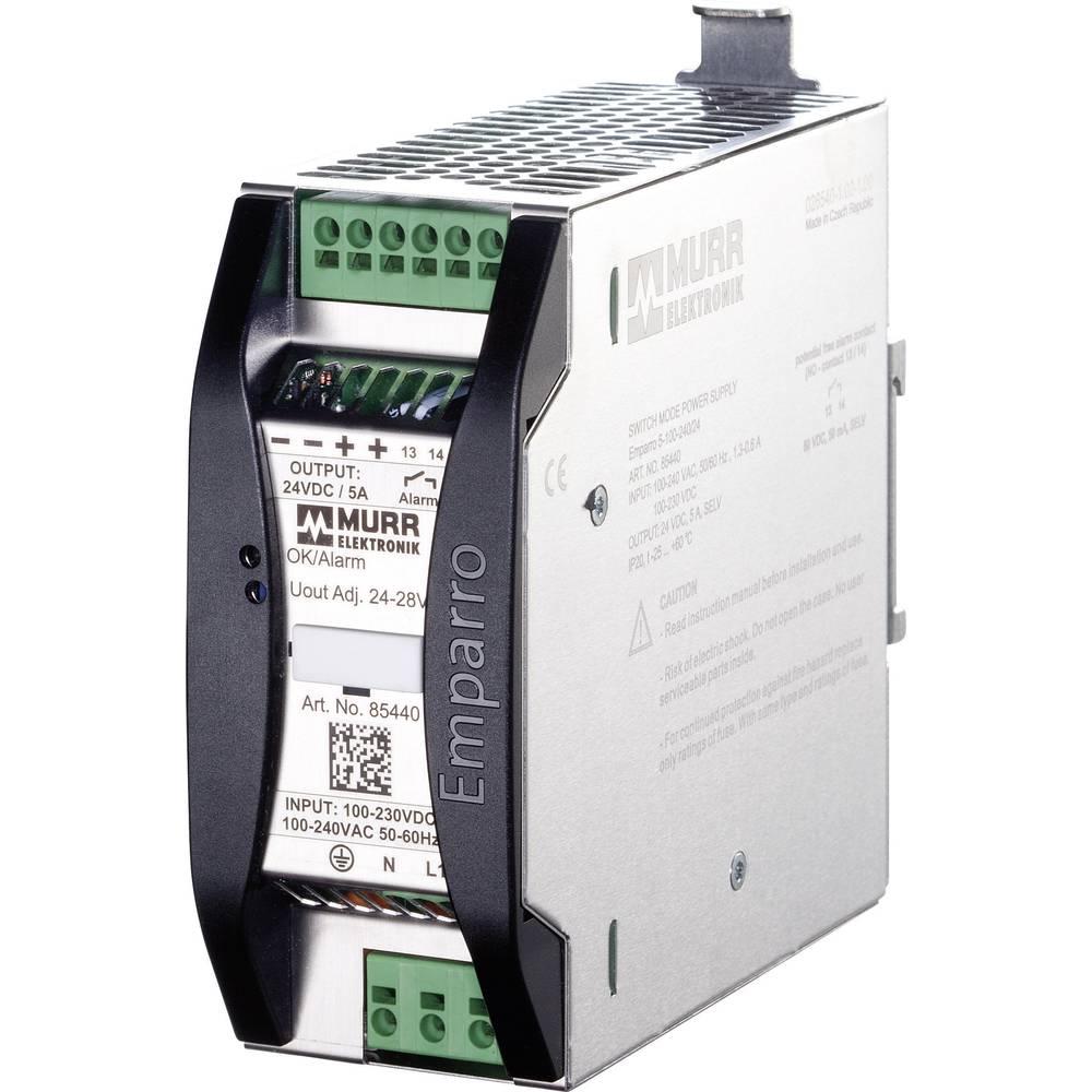 Adapter napajanja za profilne šine (DIN-letva) Murr Elektronik Emparro 10-100-240/12 15 V/DC 10 A 120 W 1 x