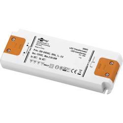Goobay SET 12-30 LED slim LED gonilnik LED napajalnik 30 W 12 V/DC 2500 mA, konstantna napetost