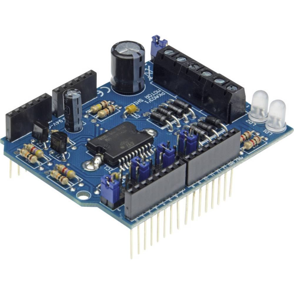 Velleman Motor i Power Shield za Arduino KA03 Bausatz