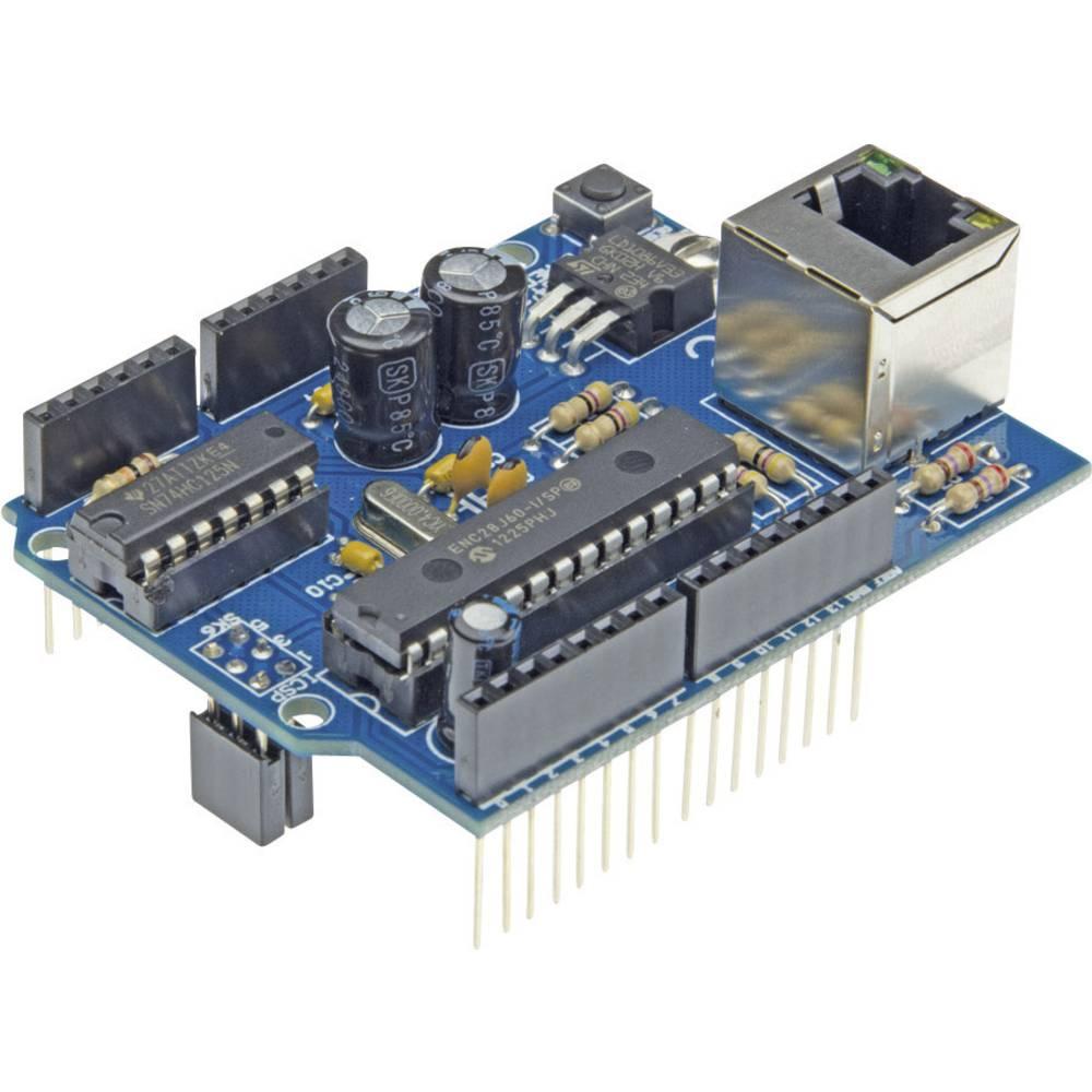 Velleman Ethernet Shield za Arduino VMA04 predmontirani modul