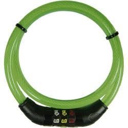Kabelska ključavnica za kolo Security Plus, s simboli, zelene barve, oprema za kolo CSL80grün