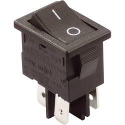 Vippströmbrytare 250 V/AC 10 A 2x Av/På Arcolectric H8550VBACA låsande 1 st
