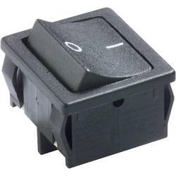 Vippströmbrytare 250 V/AC 6 A 2x Av/På Marquardt 1802.6123 IP40 låsande 1 st