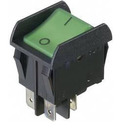 Vippströmbrytare 250 V/AC 16 A 2x Av/På interBär 3652-851.22 låsande 1 st