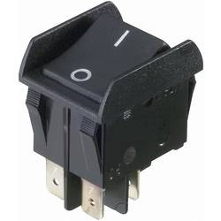 Vippströmbrytare 250 V/AC 16 A 2x Av/På interBär 3652-852.22 låsande 1 st