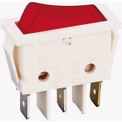 Vippströmbrytare 250 V/AC 16 A 1x Av/På B116 C2G 000 låsande 1 st