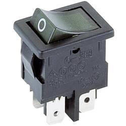 Vippströmbrytare 250 V/AC 4 A 2x Av/På Marquardt 1855.1108 IP40 låsande 1 st