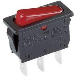 Vippströmbrytare 250 V/AC 6 A 1x Av/På Marquardt 1830.3112 IP40 låsande 1 st