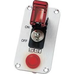 Avtomobilska kontrolna plošča 12 V/DC 20 A 1 x izklop/vklop zaskočno TRU Components TC-R18-P1A 1 kos