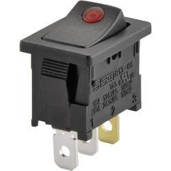 SCI Klecno stikalo, R13-66B2-02 rdeča (250V/AC 150KR) vklop/izklop zaskočno/zaskočno 250 V