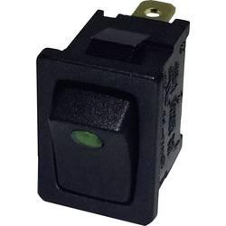 Vippströmbrytare 250 V/AC 6 A 1x Av/På SCI R13-66B2-02 (250V/AC 150KR) låsande 1 st