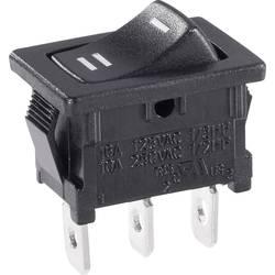 Vippströmbrytare 250 V/AC 6 A 1x På/På SCI R13-66C-02 låsande 1 st